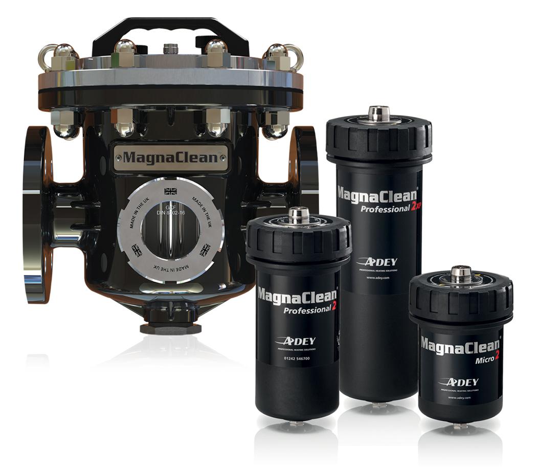 Magnetické odkalovací filtry